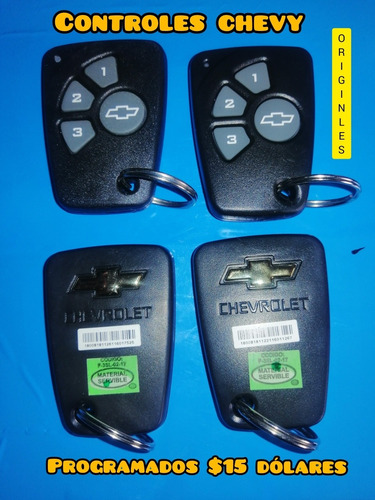 controles chevy