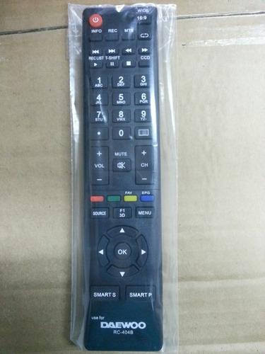controles daewoo pantallas lcd led smart tv