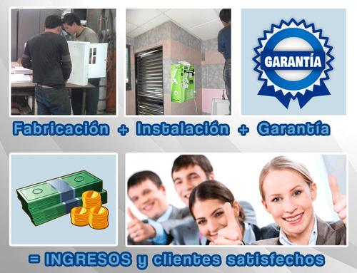 controles de acceso y expendedoras de higiene baños públicos