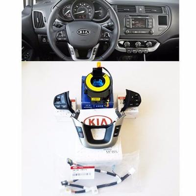 controles de timon,crucero audio bluetooth kia rio 2012-2016