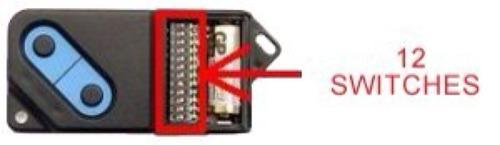 controles genius para puertas automaticas nuevos de dipswitc