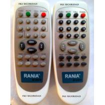 Control Remoto Rania Tv St-2101s Incluye Forro Protector
