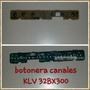 Botonera De Canales Sony Bravia