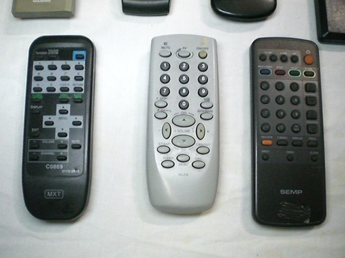 controles remoto semp