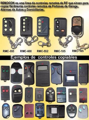 controles remotos para portónes automáticos
