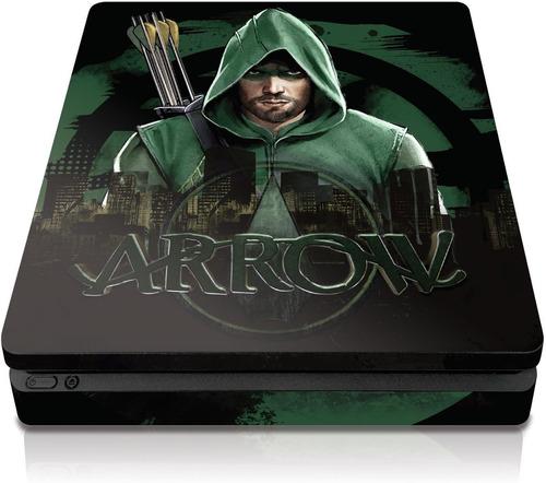 controller gear arrow  city skyline  - ps4 slim console