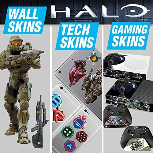 controller gear halo 5 ultimate gaming skin pack - licencia