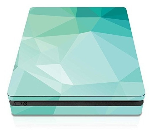 controller gear ps4 slim console skin teal poly