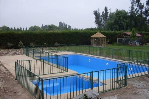 contruccion de piscinas solidas 6x3 3.800.000 8x4 5.200.000