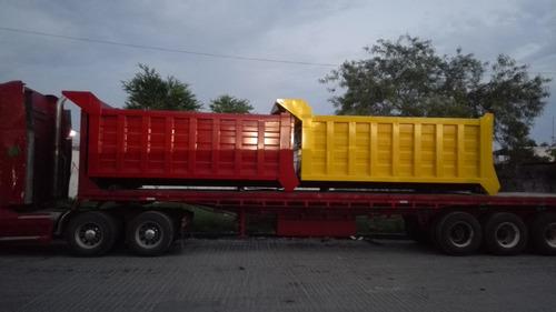 convercion a camion de volteo de 14 mtrs