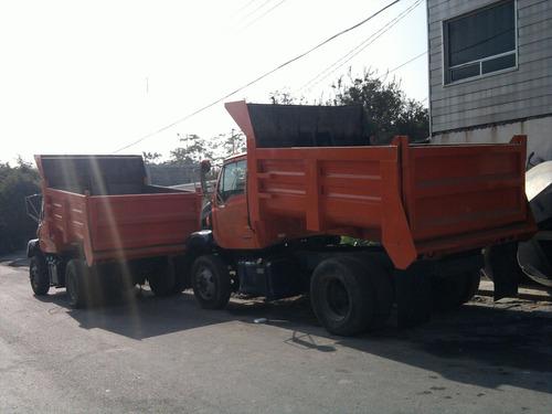 convercion a camion de volteo de 7 mtrs