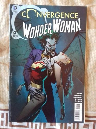 convergence wonder woman #2 y flash #2