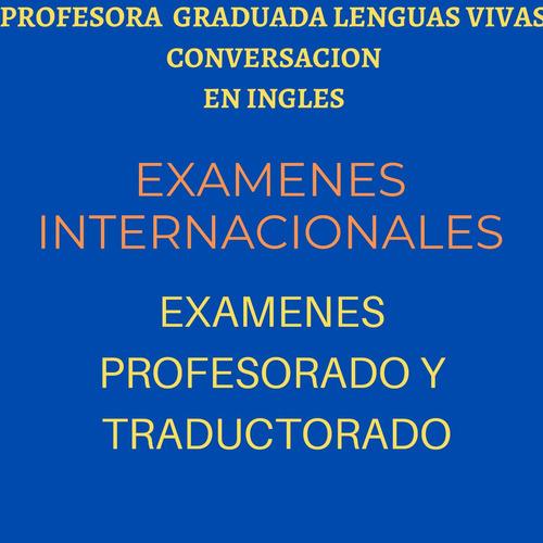 conversacion en ingles on line . promo . examenes, internac