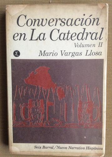 conversación en la catedral volumen ii - mario vargas llosa