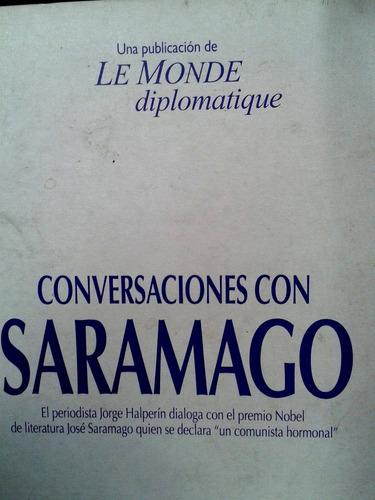 conversaciones con saramago,  jorge halperin