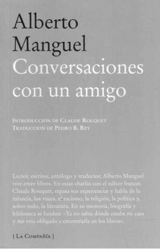 conversaciones con un amigo - alberto manguel