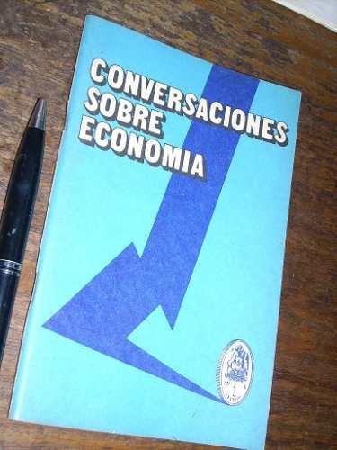 conversaciones sobre economía gabriela mistral 1974
