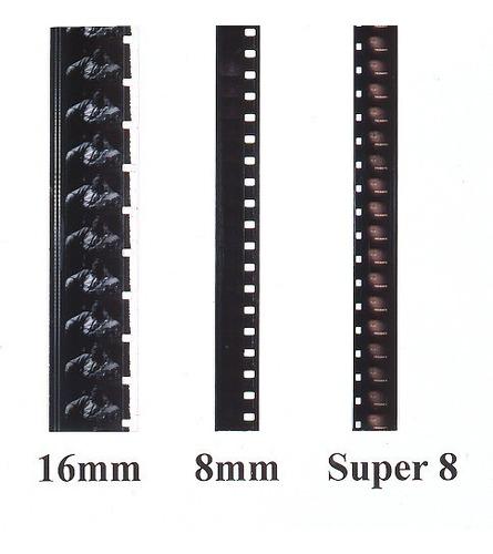 conversao digitalizacao de 8mm, super 8 ,  16mm
