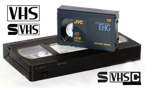 conversao fitas vhs/s-vhs/vhs-c/8mm/minidv/betamax para mp4