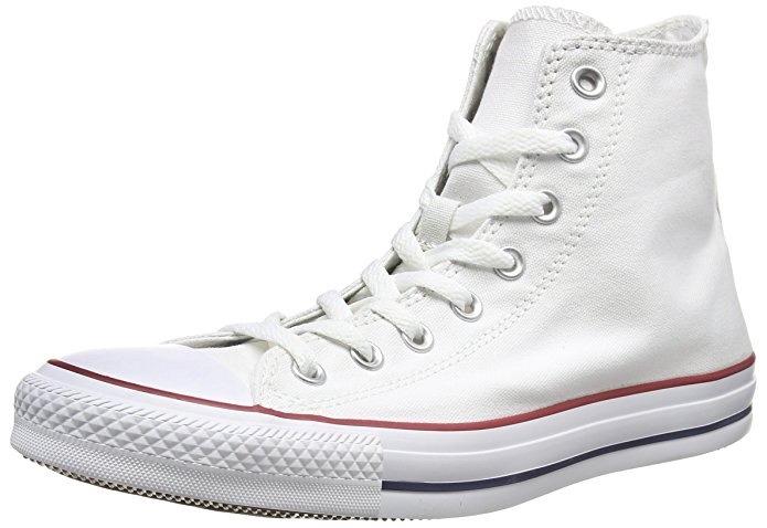 Converse / All Star - Blancas / Unisex / Chuck Taylor - 37