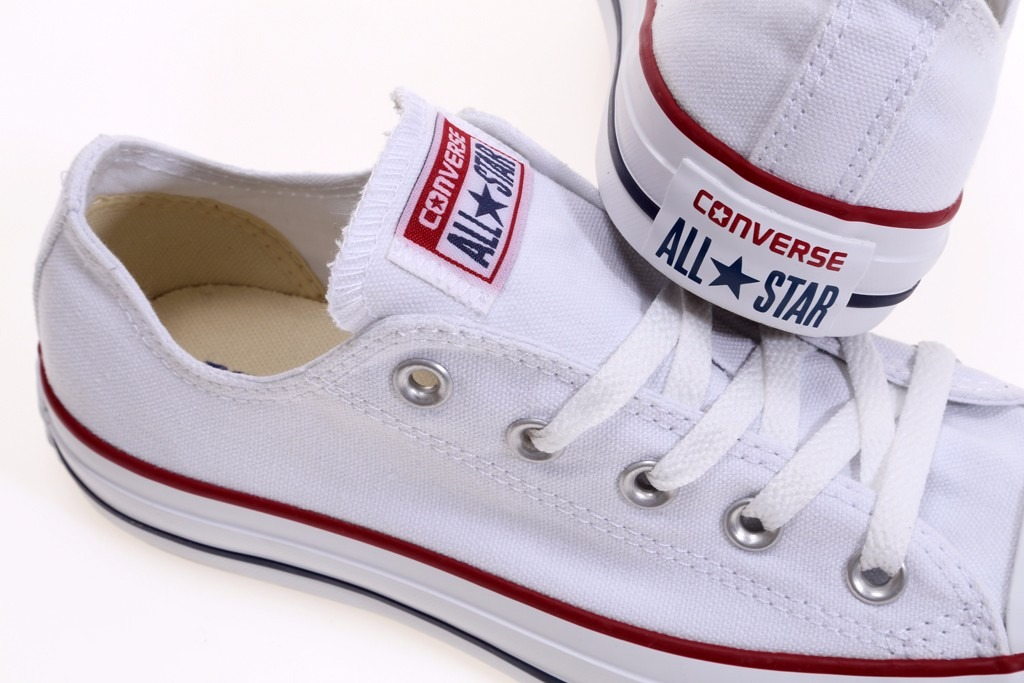 converse all star blancas con verde