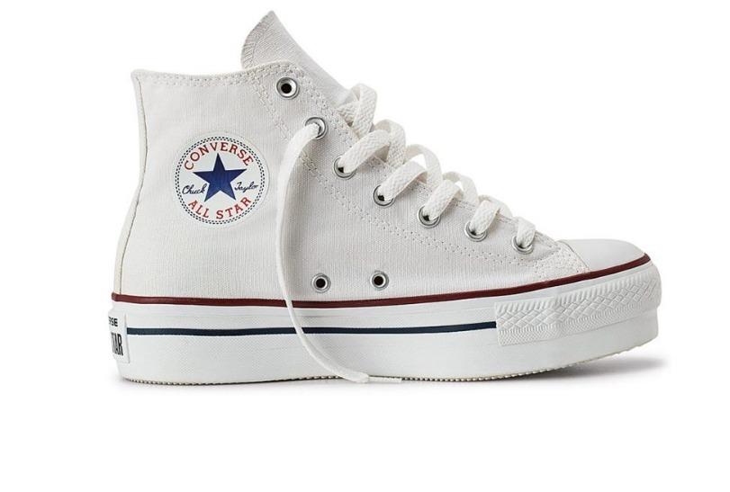 2f5e81650 converse all star bota blanca originales con plataforma. Cargando zoom.