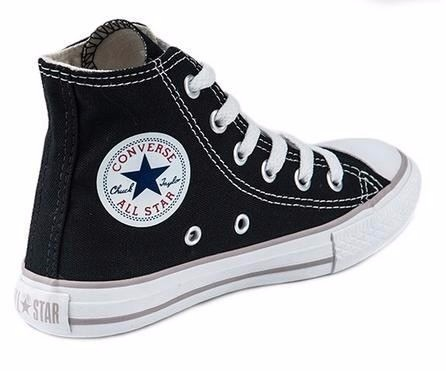 converse all star botitas negras