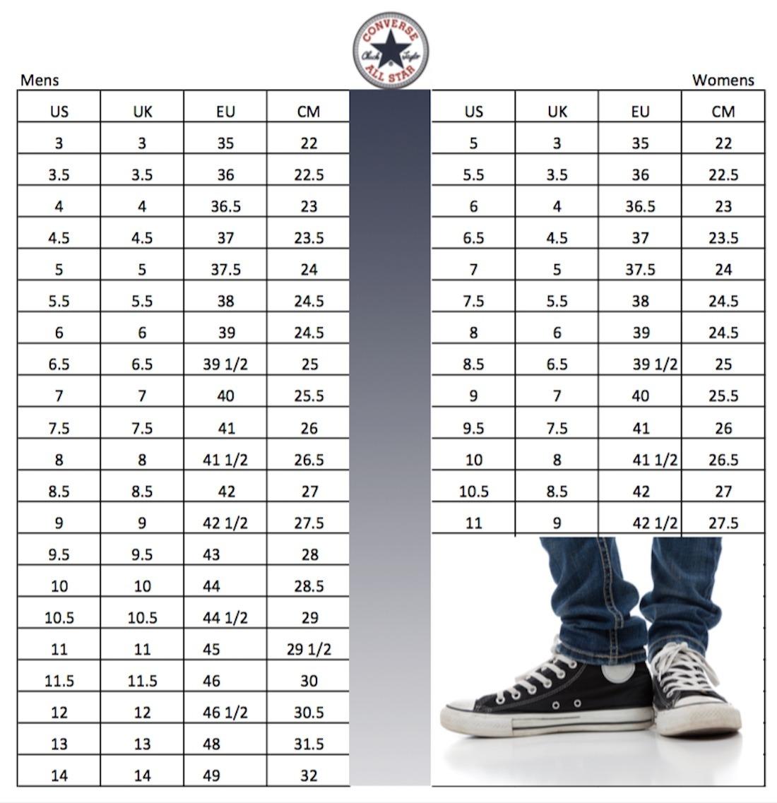 ab8916ed2 Compre 2 APAGADO EN CUALQUIER CASO tabla de tallas converse nios Y ...