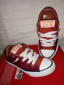 Zapatillas Converse Para Mujer Rojas Talla 35 Zapatillas