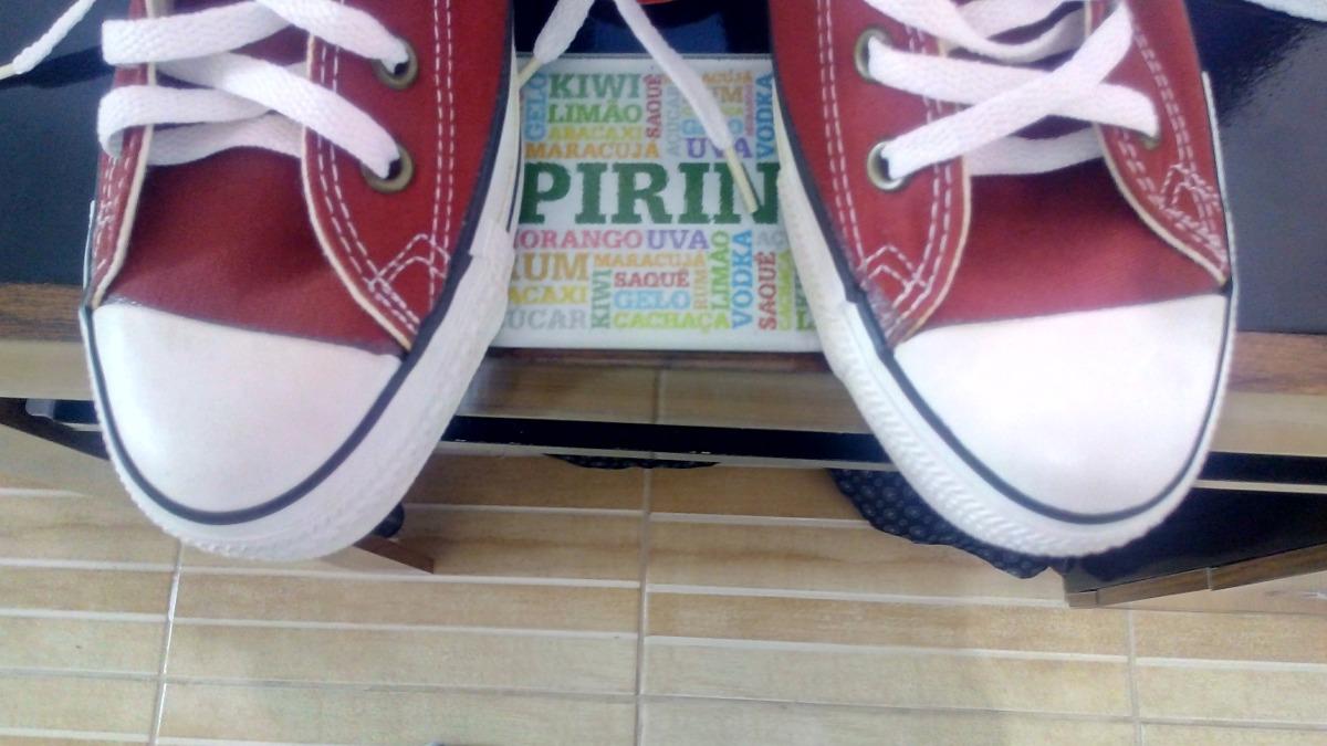 84d29773461 converse all star vinho usa + sneaker box. Carregando zoom.