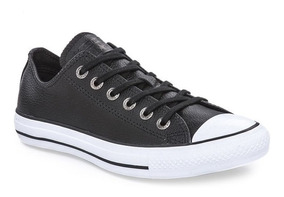 converse ox mujer negras