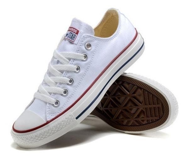 Converse Blancas 100% Originales Made In Usa