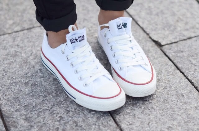 converse blancas all star