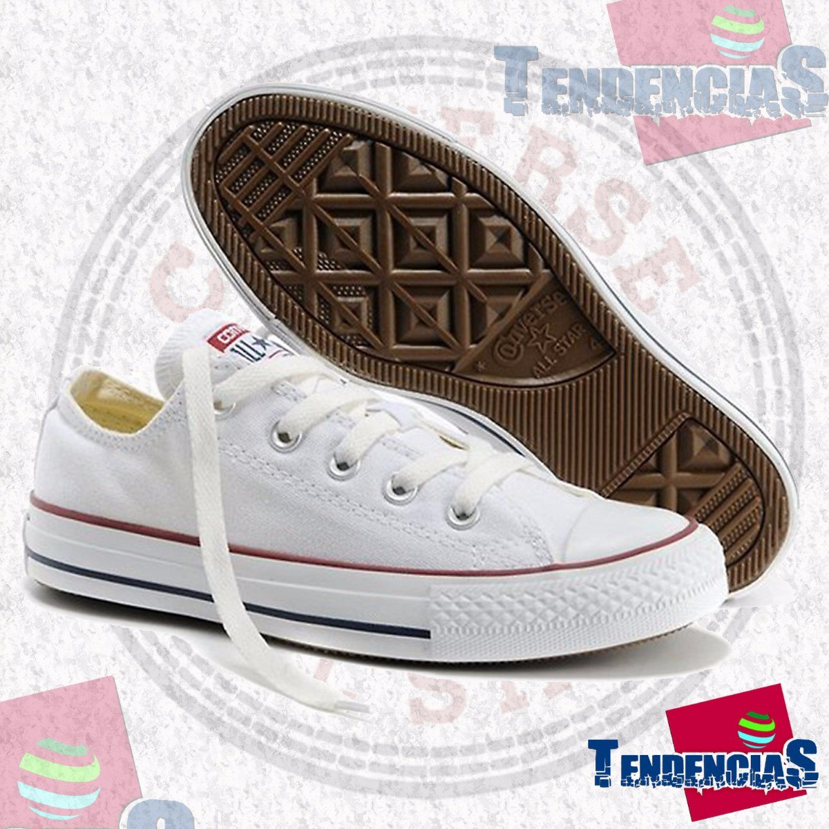 converse blanco all star
