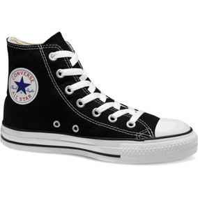 converse negros mujer