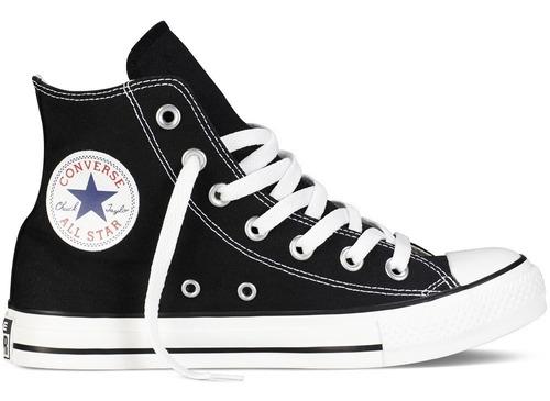 converse bota unisex c. taylor all star hi negro - rojo