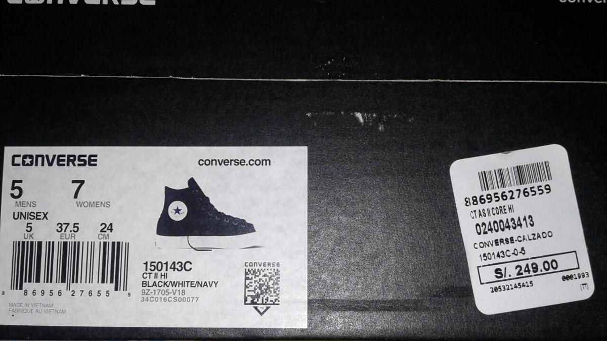 converse chuck taylor 2 con lunarlon negras nuevas original. Cargando zoom. cea137d80