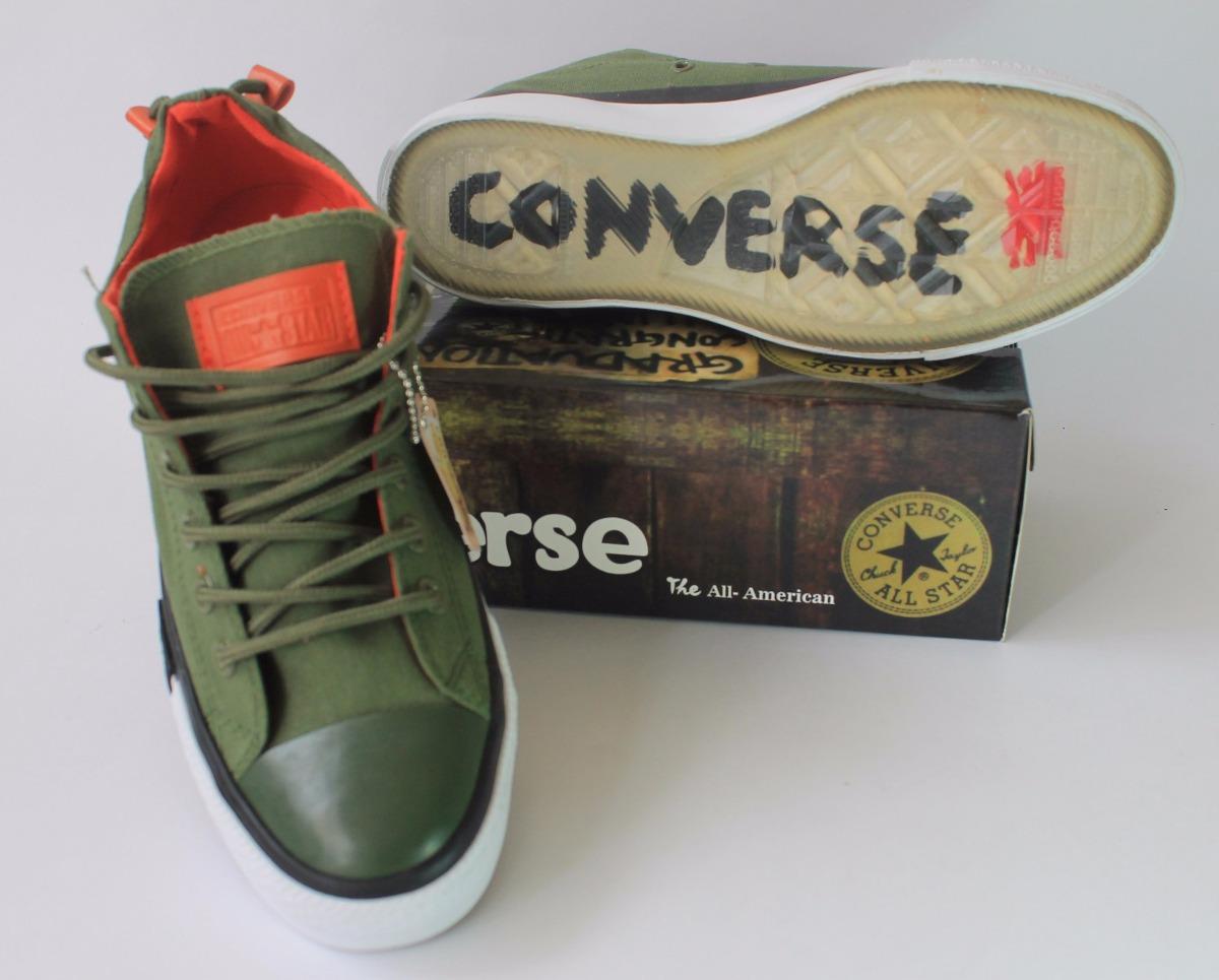 converse chuck taylor verde militar