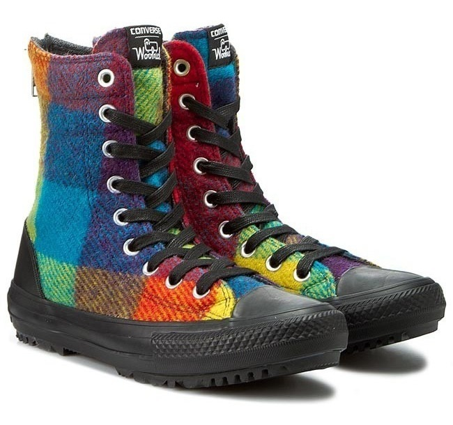 converse chuck taylor all star hi rise boot