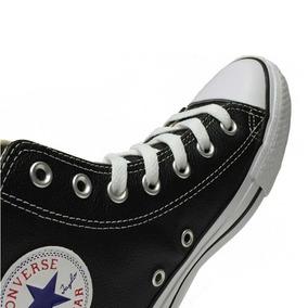 2ba2373fddb5 Vendo Zapatillas Converse Negras De Cuero - Zapatillas en Mercado ...