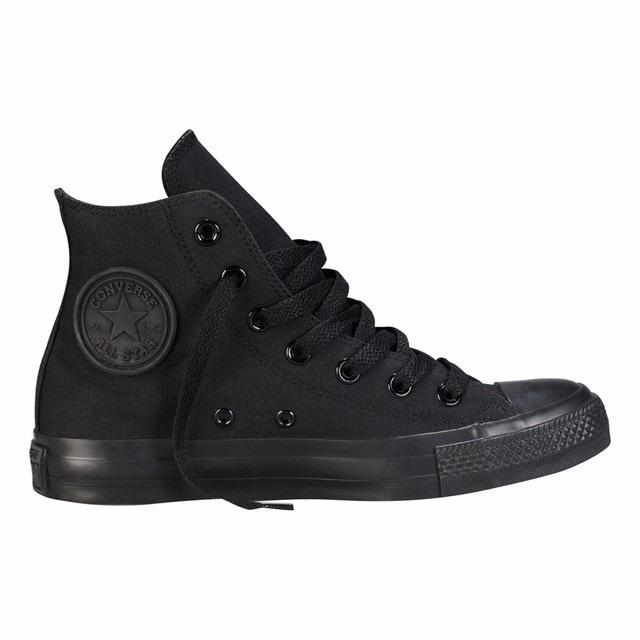 zapatillas converse negras sin caña