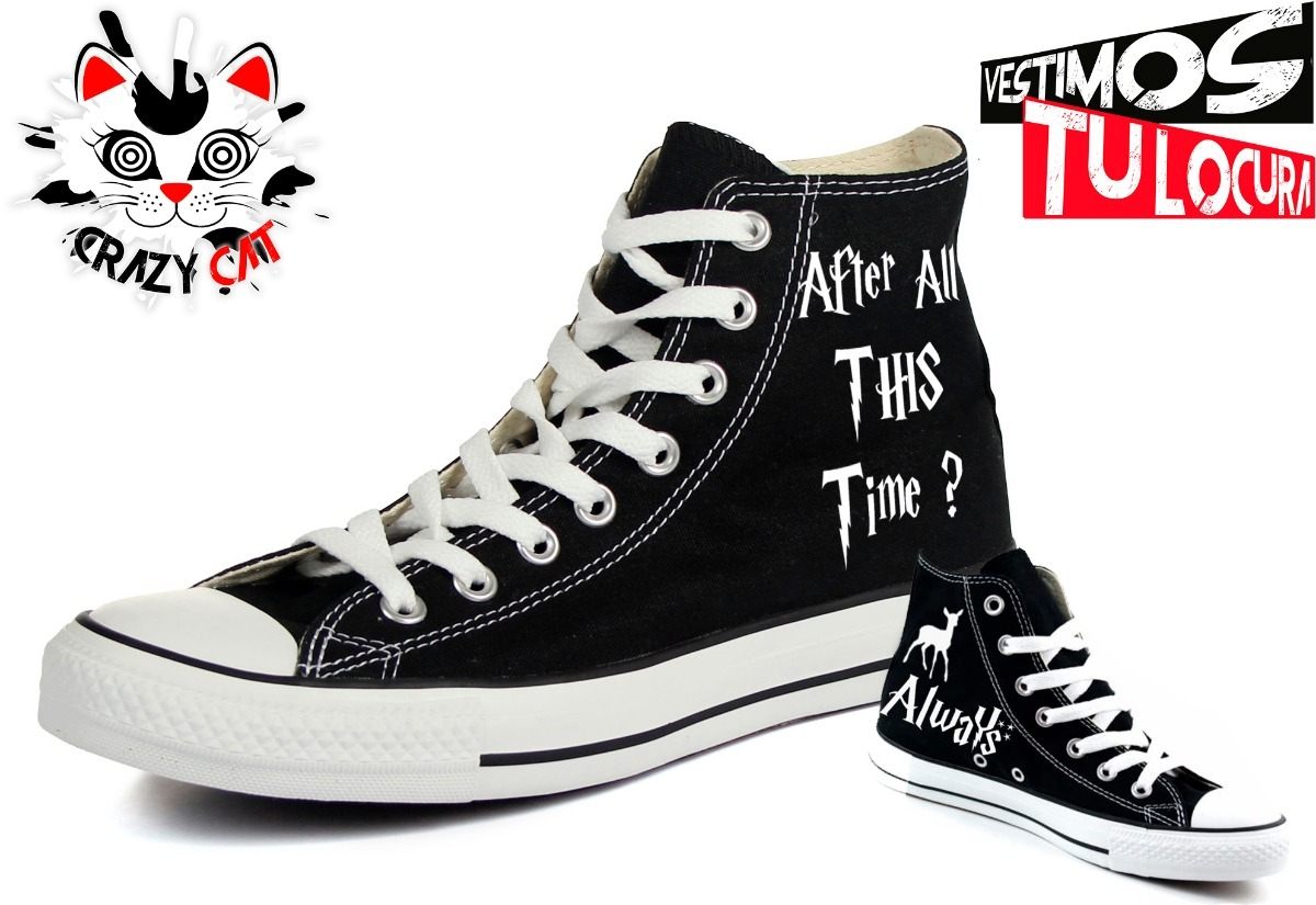 a84a5b0c040f Converse clásicos harry potter always en mercado libre jpg 1200x825 Harry  potter converse shoes