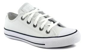 zapatillas mujer converse piel blancas