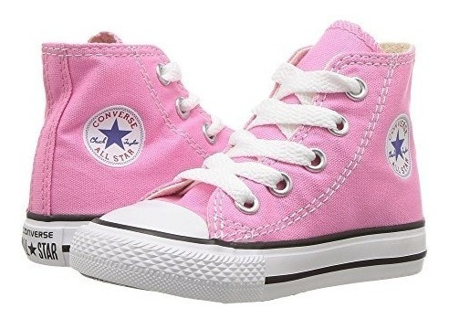 converse niñas all star rosa