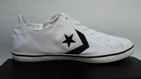 Converse Lona, Modelo 147385c Decons Cons Ox, White black