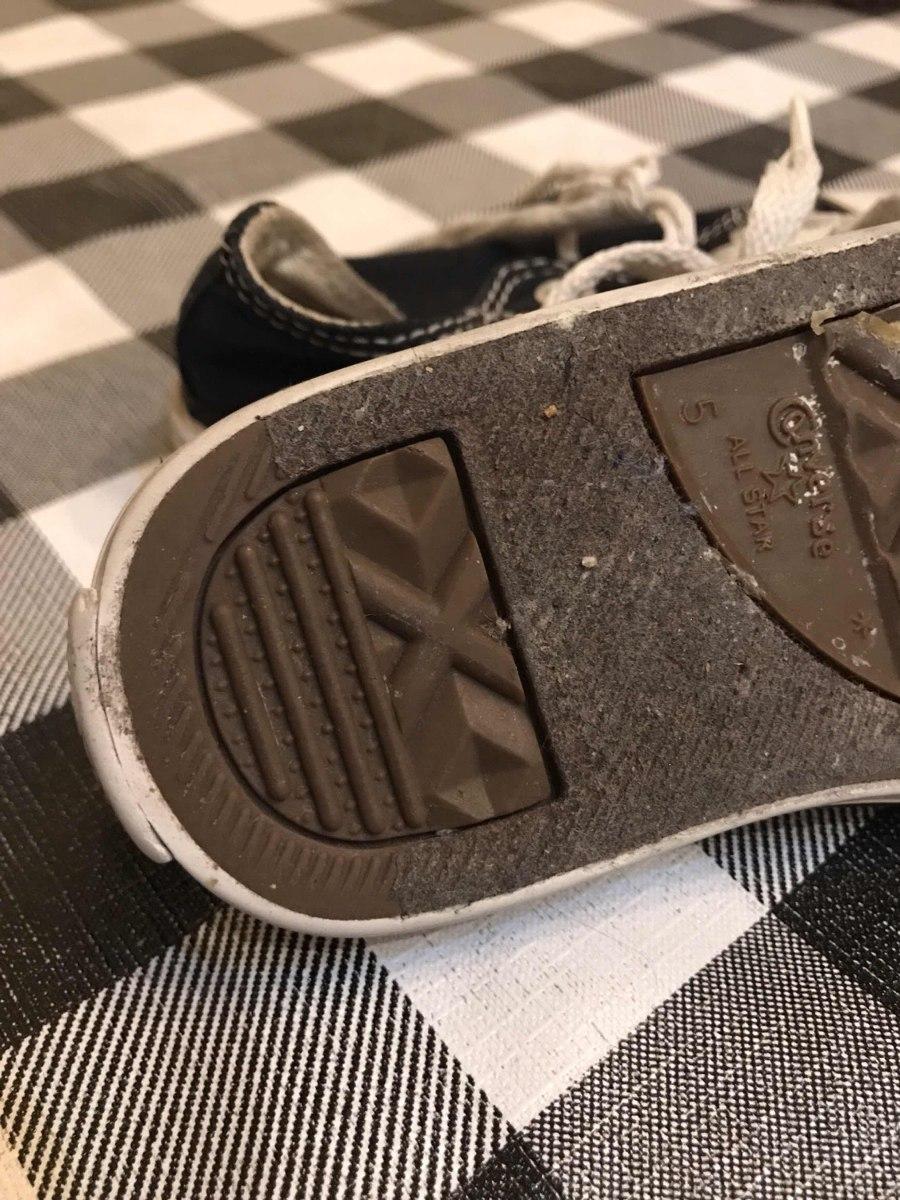 f086f75e713 Zapatillas Negras Converse 22 Bebé Niño 1 Año Aprox. -   500