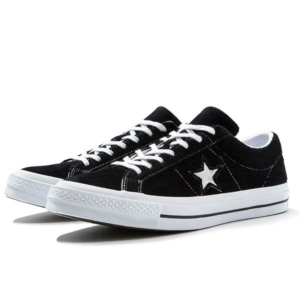 converse negras one star