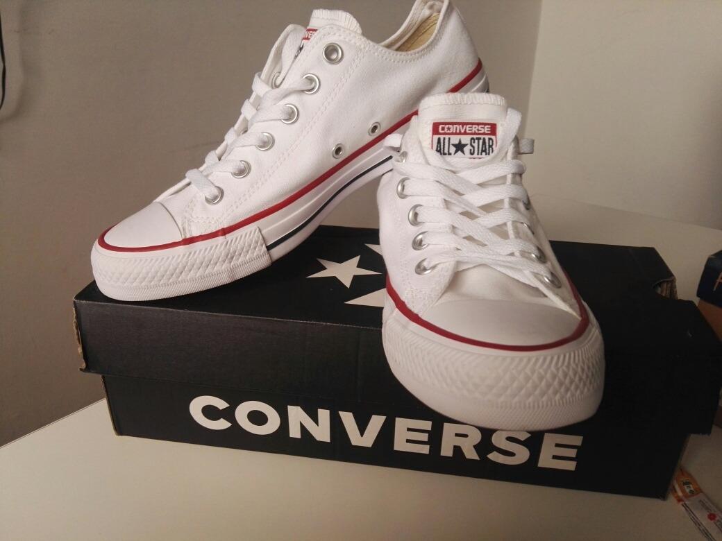 2a0d3b2230e Converse Originales Chuck Taylor All Star Blancas -   140.000 en ...