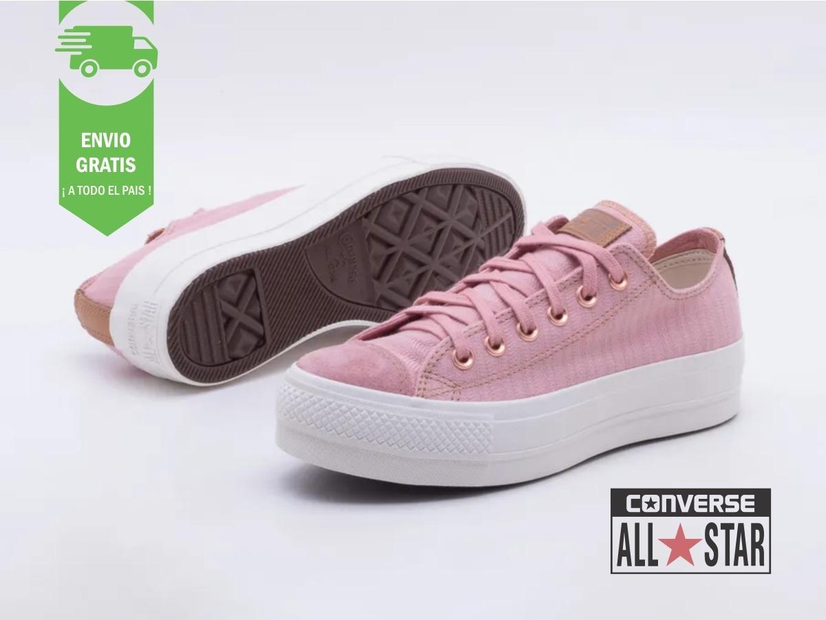 all star converse mujer rosada