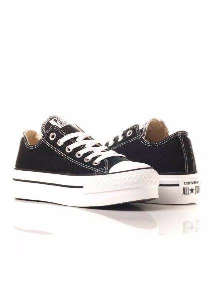Converse Plataforma Negras -   2.499 8aac3981169